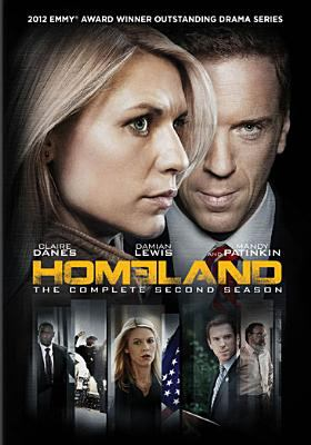 Cover image for Homeland. The complete second season [DVD] / developed for American television by Alex Gansa & Howard Gordon ; Twentieth Century Fox Film Corporation ; Teakwood Lane Productions ; Cherry Pie Productions ; Keshet ; Fox 21.