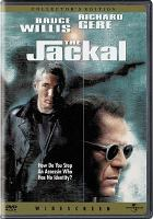 Cover image for The Jackal [DVD] / Universal Pictures and Mutual Film Company present an Alphaville production ; a Michael Caton-Jones film ; screen story and screenplay by Chuck Pfarrer ; produced by James Jacks [and others] ; directed by Michael Caton-Jones.