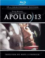 Cover image for Apollo 13 [blu-ray] / Imagine Entertainment presents a Brian Grazer production ; a Universal Picture ; produced by Brian Grazer ; screenplay by William Broyles, Jr. & Al Reinert ; directed by Ron Howard.