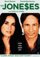 Cover image for The Joneses [DVD] / Vistaar Religare and WSG Pictures present in association with Filmnatin Entertainment and Echo Lake Entertainment Production ; written and directed by Derick Borte ; produced by Kristi Zea, Derrick Borte, andrew Spaulding, Doug Mankoff.