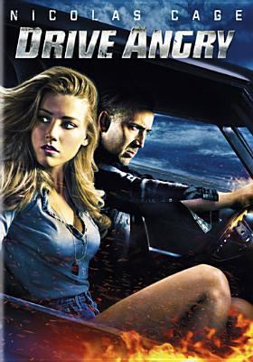 Cover image for Drive angry [DVD] / Summit Entertainment in association with Millennium Films present a Michael DeLuca production and a Nu Image production in association with Saturn Films ; produced by Rene Besson, Michael DeLuca ; written by Todd Farmer, Patrick Lussier ; directed by Patrick Lussier.