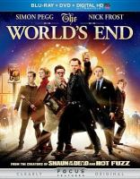 Cover image for The world's end [DVD] / Focus Features presents in association with Relativity Media a Working Title production in association with Big Talk Pictures ; produced by Nira Park, Tim Bevan, Eric Fellner ; written by Simon Pegg & Edgar Wright ; directed by Edgar Wright.