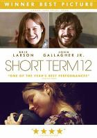 Cover image for Short term 12 [DVD]