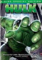 Cover image for Hulk [DVD] / Universal Pictures ; Marvel Enterprises ; directed by Ang Lee.
