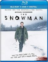 Cover image for The snowman [blu-ray] / Universal Pictures presents ; in association with Perfect World Pictures ; a Working Title production ; in association with Another Park Film ; a Tomas Alfredson film ; produced by Tim Bevan, Eric Fellner, Piodor Gustafsson, Robyn Slovo ; screenplay by Peter Straughan and Hossein Amini and Søren Sveistrup ; directed by Tomas Alfredson.