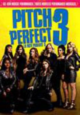 Cover image for Pitch perfect 3 [DVD] / Universal Pictures and Gold Circle Entertainment present ; in association with Perfect World Pictures ; a Gold Circle Entertainment/Brownstone production ; directed by Trish Sie ; screenplay by Kay Cannon and Mike White ; story by Kay Cannon ; produced by Paul Brooks, Max Handelman, Elizabeth Banks.