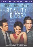 Cover image for Reality bites [DVD] / Universal Pictures presents a Jersey Films production ; written by Helen Childress ; produced by Danny DeVito and Michael Shamberg ; directed by Ben Stiller.