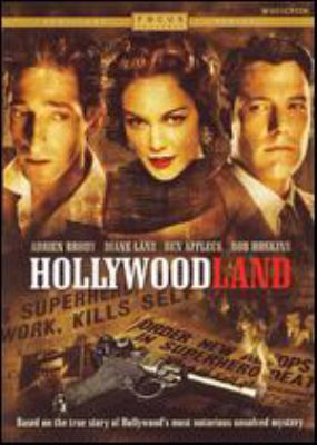 Cover image for Hollywoodland [DVD] / Universal Pictures ; Focus Features and Miramax Films present a Back Lot Pictures production ; produced by Glenn Williamson ; written by Paul Bernbaum ; directed by Allen Coulter.