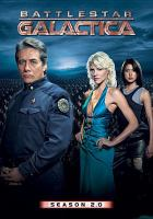 Cover image for Battlestar Galactica. Season 2.0 [DVD] / Universal ; consulting producer, Glen A. Larson, Mark Verheiden ; produced by Harvey Frand ; developed by Ronald D. Moore ; executive producers, Ronald D. Moore, David Eick ; director of photography, Stephen McNutt.