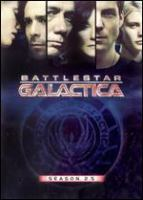 Cover image for Battlestar Galactica. Season 2.5 [DVD] / Universal ; consulting producer, Glen A. Larson ; produced by Harvey Frand ; developed by Ronald D. Moore ; executive producers, Ronald D. Moore, David Eick ; director of photography, Stephen McNutt ; R & D TV.
