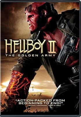 Cover image for Hellboy II : the golden army / directed by Guillermo del Toro ; screenplay by Guillermo del Toro ; story by Guillermo del Toro & Mike Mignola ; produced by Lawrence Gordon, Mike Richardson, Lloyd Levin ; a Universal Pictures presentation in association with Relativity Media ; a Lawrence Gordon, Lloyd Levin production ; in association with Dark Horse Entertainment ; a Guillermo Del Toro film.