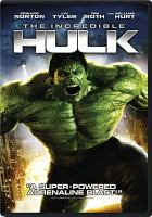 Cover image for The Incredible Hulk [DVD] / Universal Pictures and Marvel Entertainment present a Marvel Studios production ; a Valhalla Motion Pictures production ; produced by Avi Arad, Kevin Feige, Gale Anne Hurd ; screen story and screenplay by Zak Penn ; directed by Louis Leterrier.