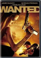 Cover image for Wanted [DVD] / Universal Pictures and Spyglass Entertainment presents Marc Platt Productions, Kickstart Productions in association with Top Cow Productions ; produced by Jim Lemley, Jason Netter, Marc E. Platt, Iain Smith ; story by Michael Brandt & Derek Haas ; screenplay by Michael Brandt & Derek Haas and Chris Morgan ; directed by Timur Bekmambetov.