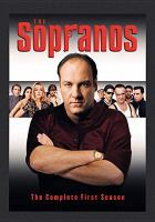 Cover image for The Sopranos. The complete first season [DVD] / a Brad Grey Television production in association with HBO Original Programming ; produced by Ilene S. Landress ; executive producer, Brad Grey, David Chase ; created by David Chase.