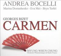 Cover image for Bizet : Carmen [compact disc] / Andrea Bocelli.