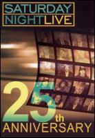 Cover image for SNL 25th anniversary [DVD] / National Broadcasting Company, Inc. ; producers, Marci Klein, Michael Shoemaker ; directed by Beth McCarthy Miller ; written by Anne Beatts, Tom Davis, Tina Fey, Steve Higgins, Marilyn Suzanne Miller, Paula Pell, Paul Shaffer, T. Sean Shannon, Michael Shoemaker.