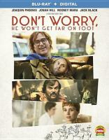 Cover image for Don't worry, he won't get far on foot [blu-ray] / Amazon Studios presents ; an Iconoclast/Anonymous Content production ; a Gus Van Sant film ; produced by Charles-Marie Anthonioz, Mourad Belkeddr, Steve Golin, Nicolas Lhermitte ; story by John Callahan, Gus Van Sant, Jack Gibson, William Andrew Eatman ; screenplay by Gus Van Sant ; directed by Gus Van Sant.
