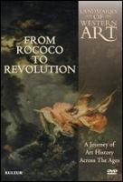 Cover image for Landmarks of western art [DVD] : a journey of art history across the ages. From Rococo to revolution / Cromwell Productions.