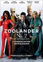 Cover image for Zoolander 2 [DVD] / director, Ben Stiller.