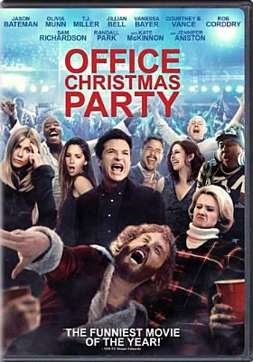 Cover image for Office Christmas party [DVD] / DreamWorks Pictures and Reliance Entertainment present ; a Bluegrass Films/Entertainment 360 production ; produced by Scott Stuber, Guymon Casady, Daniel Rappaport ; screenplay by Justin Malen and Laura Solon and Dan Mazer ; directed by Will Speck & Josh Gordon.