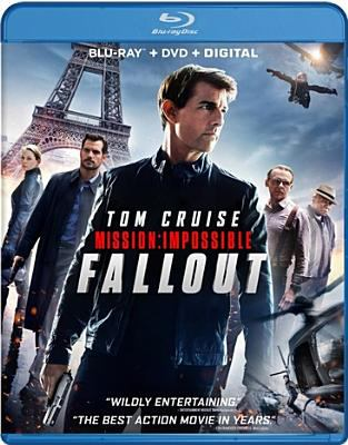 Cover image for Mission: Impossible. Fallout [blu-ray] / Paramount Pictures and Skydance present ; a Tom Cruise, Bad Robot production ; in association with Alibaba Pictures ; produced by Tom Cruise, Jake Myers, Christopher McQuarrie, J.J Abrams ; written and directed by Christopher McQuarrie.