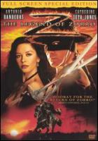 Cover image for The legend of Zorro [DVD] / Columbia Pictures and Spyglass Entertainment present ; an Amblin Entertainment production ; produced by Walter F. Parkes, Laurie MacDonald, Lloyd Phillips ; story by Roberto Orci & Alex Kurtzman and Ted Elliott & Terry Rossio ; screenplay by Roberto Orci & Alex Kurtzman ; directed by Martin Campbell.