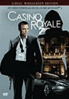Cover image for Casino Royale [DVD] / Metro-Goldwyn-Mayer ; Columbia Pictures ; Albert R. Broccoli's Eon Productions Ltd presents ; screenplay by Neal Purvis & Robert Wade and Paul Haggis ; produced by Michael G. Wilson and Barbara Broccoli ; directed by Martin Campbell ; Danjaq LLC,United Artists Corporation ; a Stillking, Casino Royale Productions, Casino Royale US LLC, Babelsberg Film co-production.