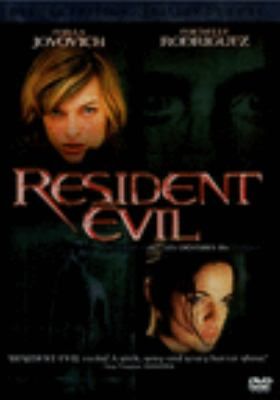 Cover image for Resident evil = Resident evil : les créatures maléfiques [DVD] / Screen Gems/Constantin Film/Davis Films presents a Constantin Film/New Legacy Film/Davis Films production, in association with Impact Pictures ; produced by Bernd Eichinger [and others] ; written and directed by Paul W.S. Anderson.