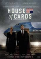 Cover image for House of cards. The complete third season [DVD] / directors, James Foley, John David Coles.