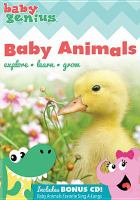 Cover image for Baby genius. Baby animals [DVD]