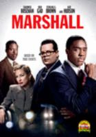 Cover image for Marshall [DVD] / directed and produced by Reginald Hudlin.