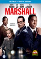 Cover image for Marshall [blu-ray] / directed and produced by Reginald Hudlin.