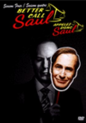 Cover image for Better call Saul. Season four [DVD]