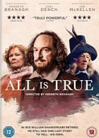 Cover image for All is true [DVD] / directed by Kenneth Branagh.