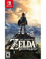 Cover image for The legend of Zelda. Breath of the wild [video game]