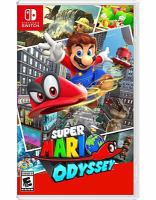 Cover image for Super Mario odyssey [video game]
