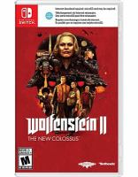 Cover image for Wolfenstein II [video game] : the new colossus.