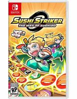 Cover image for Sushi striker [video game] : the way of Sushido / NIS America Inc.