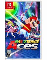 Cover image for Mario tennis aces [video game]