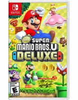 Cover image for New Super Mario Bros. U deluxe [video game]