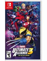 Cover image for Marvel ultimate alliance 3 [video game] : the black order / developed by Koei Tecmo Games.