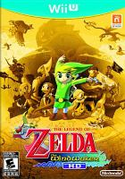 Cover image for The legend of Zelda. The Wind Waker HD [video game].