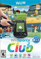 Cover image for Wii sports club [video game]