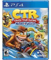 Cover image for CTR : Crash team racing : nitro fueled / Activision.