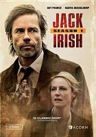 Cover image for Jack Irish. Season 1 [DVD] / The Australian Broadcasting Corporation and Screen Australia presents ; in association with Film Victoria ; an Essential Media & Entertainment production ; produced by Ian Collie, Andrew Knight ; directed by Kieran Darcy-Smith, Daniel Nettheim, Mark Joffe ; created and written by Andrew Knight, Matt Cameron, Andrew Anastasios.