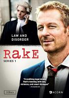 Cover image for Rake. Series 1 [DVD] / Essential Media & Entertainment and Blow by Blow ; Screen Australia and The Australian Broadcasting Corporation ; in association with Screen NSW ; written by Peter Duncan, Andrew Knight ; directed by Peter Duncan, Rachel Ward, Jeffrey Walker, Jessica Hobbs ; producers, Ian Collie, Peter Duncan, Richard Roxburgh.