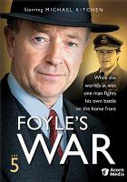Cover image for Foyle's war. Set 5, disc 1, Plan of attack [DVD] / Greenlit Productions ; Icon.