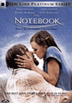 Cover image for The notebook [DVD] = Les pages de notre amour / an Alliance Atlantis release ; New Line Cinema presents a Gran Via production ; produced by Mark Johnson, Lynn Harris ; adaptation by Jan Sardi ; screenplay by Jeremy Leven ; directed by Nick Cassavetes.