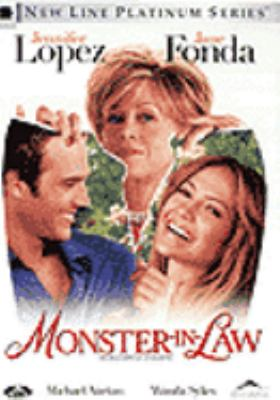 Cover image for Monster-in-law [DVD] = Ma belle-mère est un monstre / an Alliance Atlantis release, New Line Cinema presents a BenderSpink production, a Spring Creek production, a Robert Luketic film ; produced by Paula Weinstein, Chris Bender, J.C. Spink ; written by Anya Kochoff ; directed by Robert Luketic.