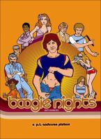Cover image for Boogie nights [DVD] / An Alliance Films release ; New Line Cinema presents ; a Lawrence Gordon production in association with Ghoulardi Film Company ; a P.T. Anderson picture ; produced by Lloyd Levin, Joanne Sellar, Paul Thomas Anderson ; written and directed by Paul Thomas Anderson.